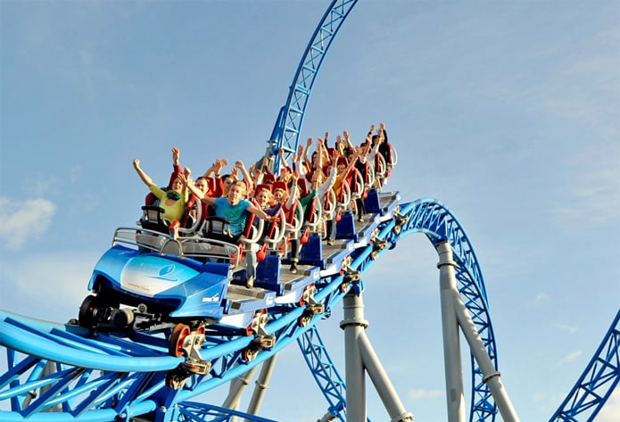 Grand huit Blue Fire Europa-Park